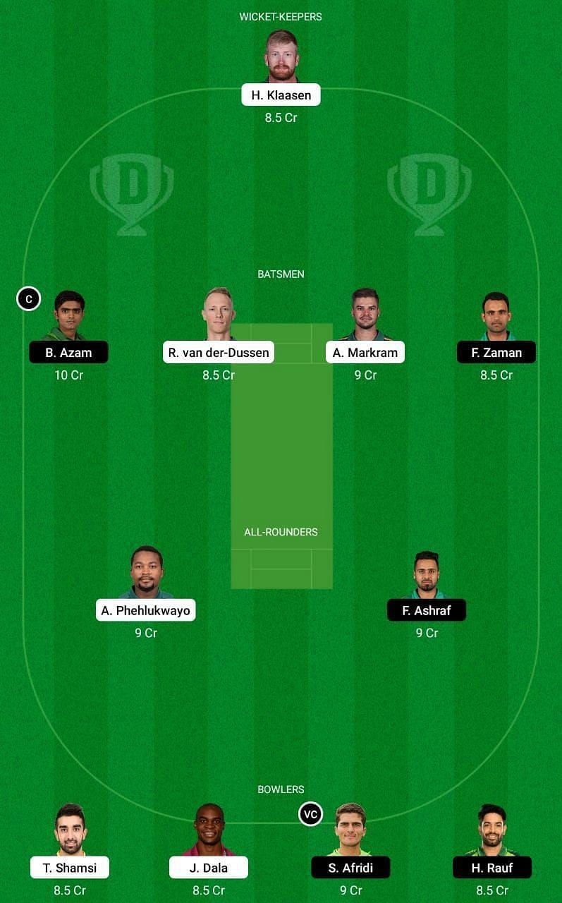 South Africa vs Pakistan 3rd ODI Dream11 Tips