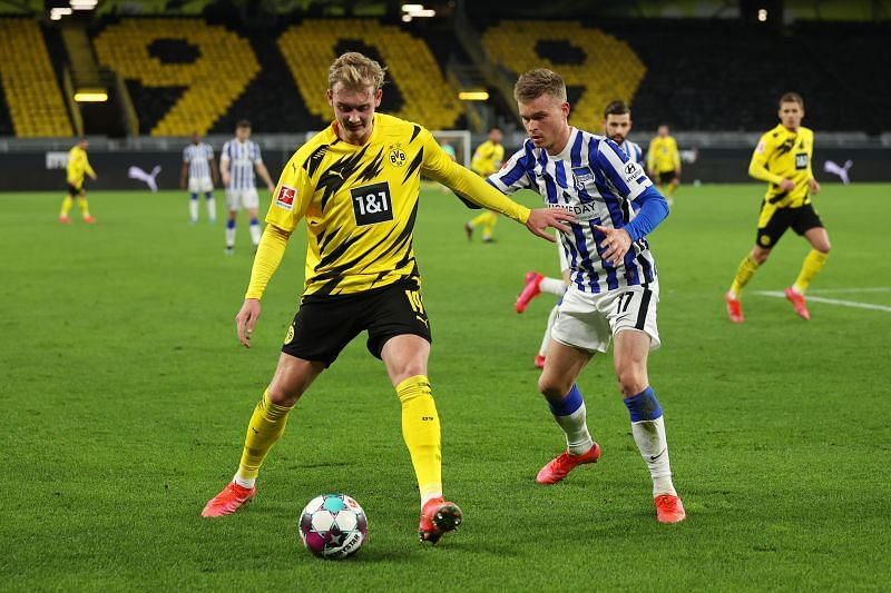 Julian Brandt has fallen down the pecking order at Borussia Dortmund behind the likes of Jude Bellingham and Giovanni Reyna