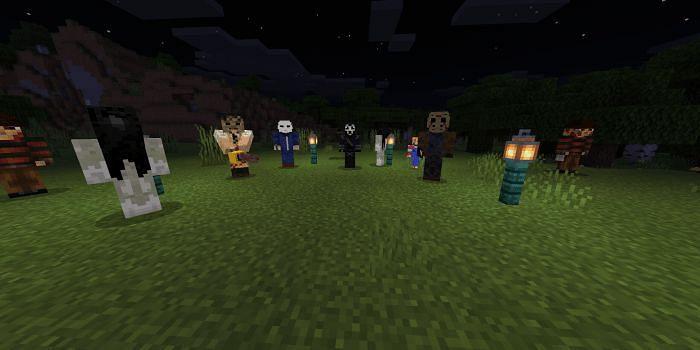 Horror Movie Monsters (Image via mcpedl.com)