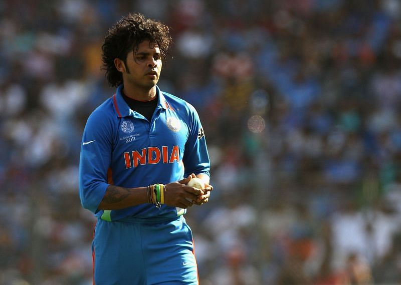 Sreesanth bowled eight overs in the 2011 World Cup Final