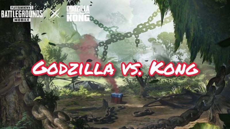 PUBG Mobile recently announced the Godzilla vs Kong game mode