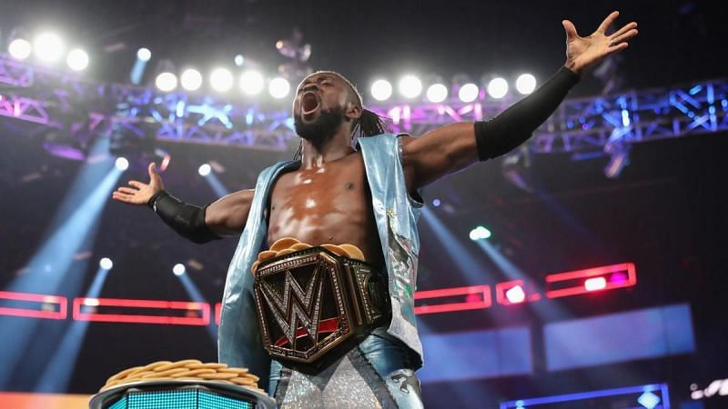 Kofi Kingston is a member of The New Day with Big E and Xavier Woods