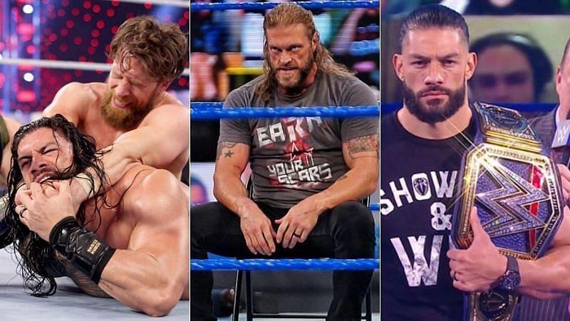 रोमन रेंस(Roman Reigns) अपनी यूनिवर्सल चैंपियनशिप को ऐज(Edge) और डेनियल ब्रायन(Daniel Bryan) के खिलाफ डिफेंड करेंगे