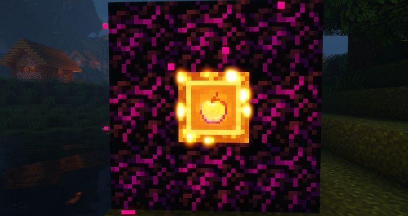 The fabled Enchanted Golden Apple (Image via Minecraft)