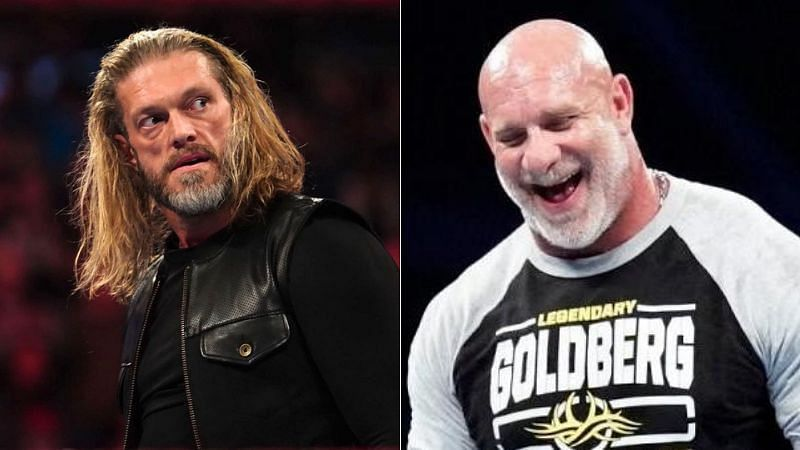 Edge and Goldberg both returned to WWE after several years