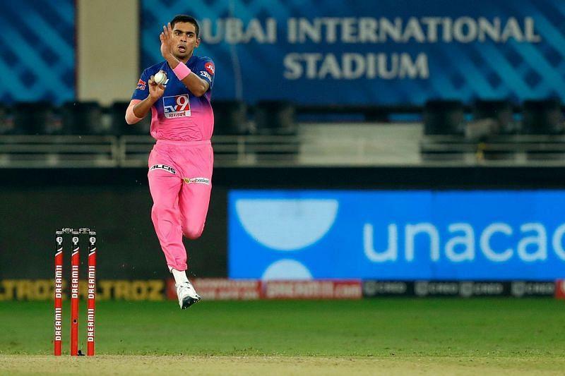 Kartik Tyagi showed promise in his debut IPL season, but was quite expensive.