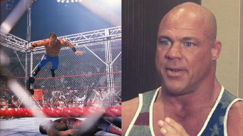 Chris Benoit and Kurt Angle.