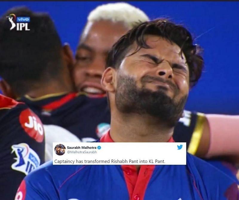 Fans feel Rishabh Pant