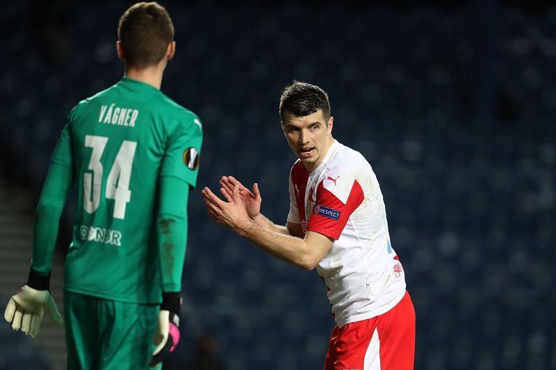 Slavia Prague have a depleted squad