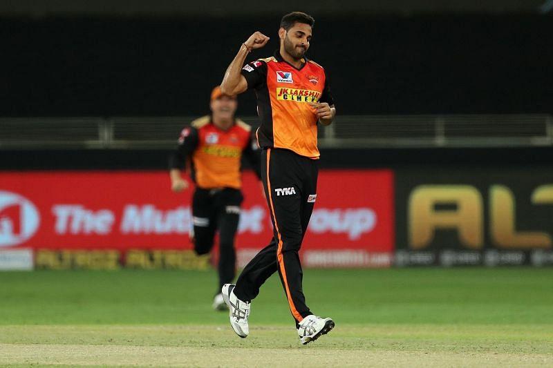 Bhuvneshwar Kumar is not a part of the Sunrisers Hyderabad playing XI tonight (Image Courtesy: IPLT20.com)