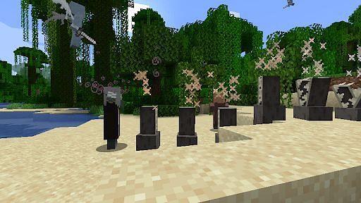 Evoker Behavior in Minecraft