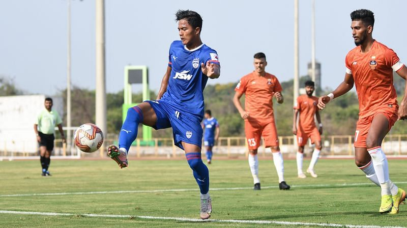 Bengaluru FC and FC Goa played a friendly among themselves in Goa ahead of their Asian competitions.