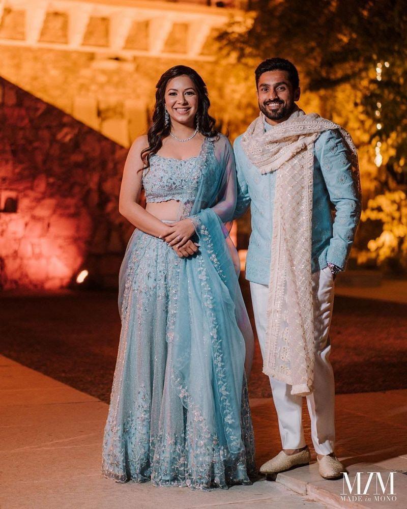 Karun Nair's Pic with lovely wife Sanaya Tankariwala