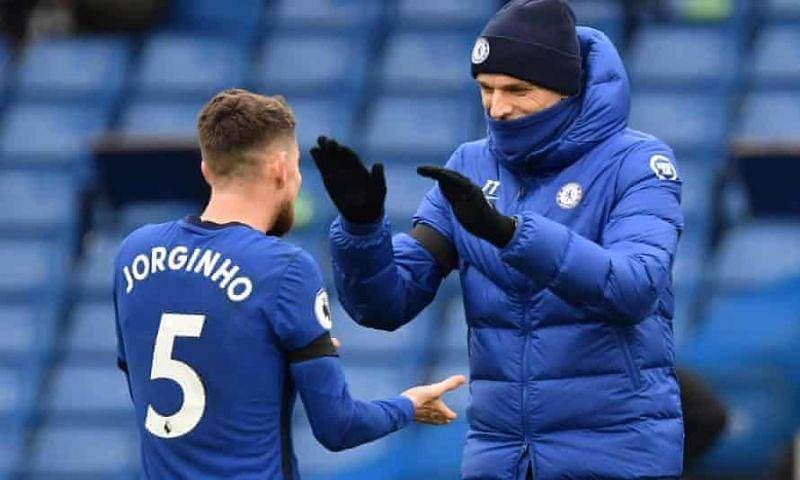 Jorginho has two years remaining on his Chelsea contract