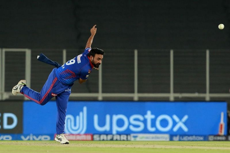 Amit Mishra did not bowl his full quota of overs for the Delhi Capitals [P/C: iplt20.com]
