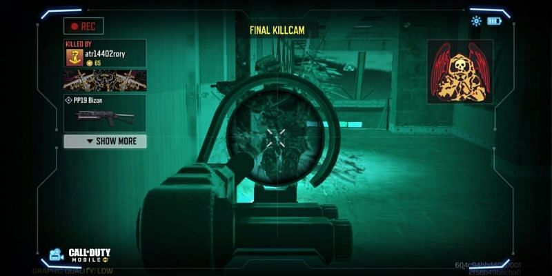 Movement is one of the main aspects of the game (Image via Activision)