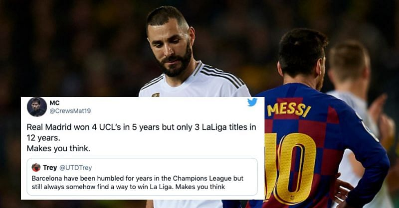 Barcelona, Real Madrid, Atletico Madrid and Sevilla are all in the La Liga title race