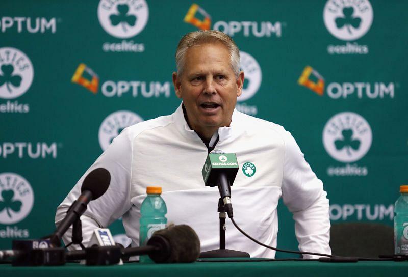 Celtics GM Danny Ainge