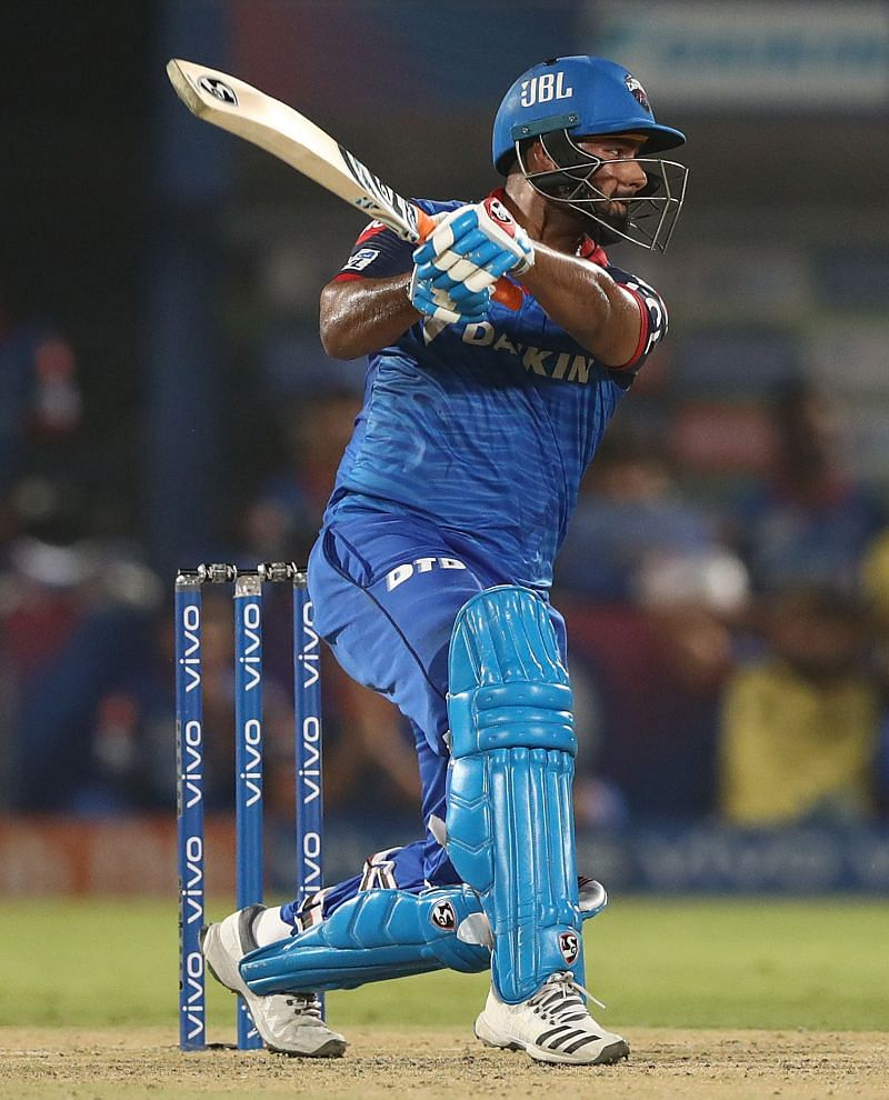 Rishabh Pant has won 4 out of 6 matches as DC captain