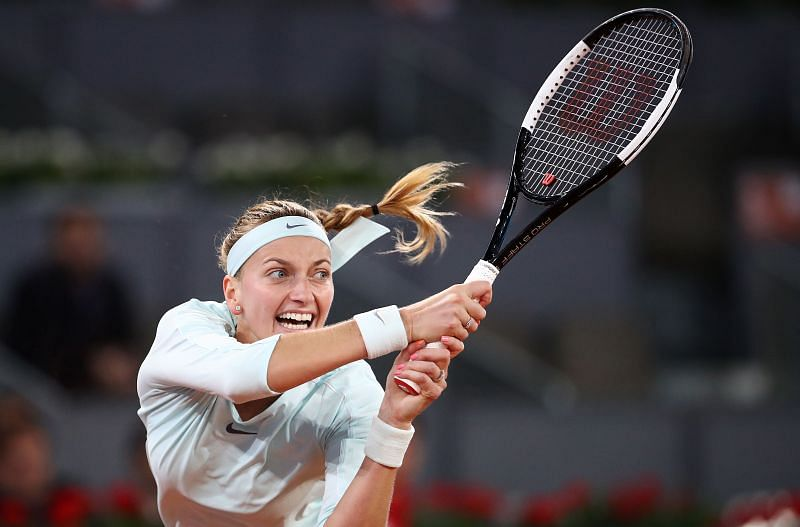 Petra Kvitova will look to take on the role of the aggressor in the match