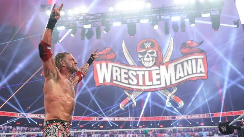 Edge believes the WWE Universe is the great unknown going into WrestleMania.