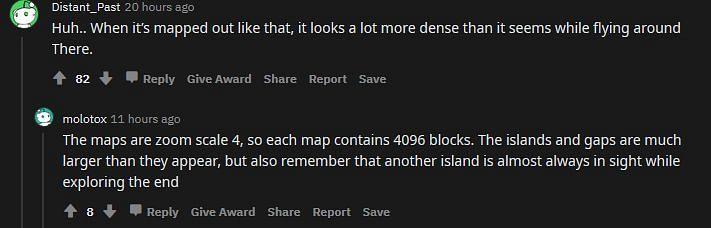 A Redditor shocked at how dense the map is (Image via Reddit)