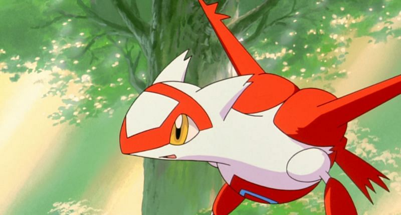 Latias in the anime (Image via The Pokemon Company)