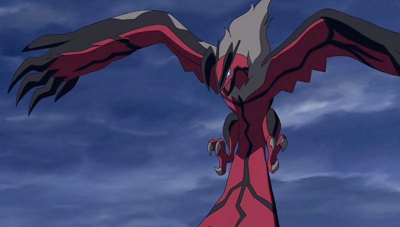 Yveltal in the anime (Image via The Pokemon Company)