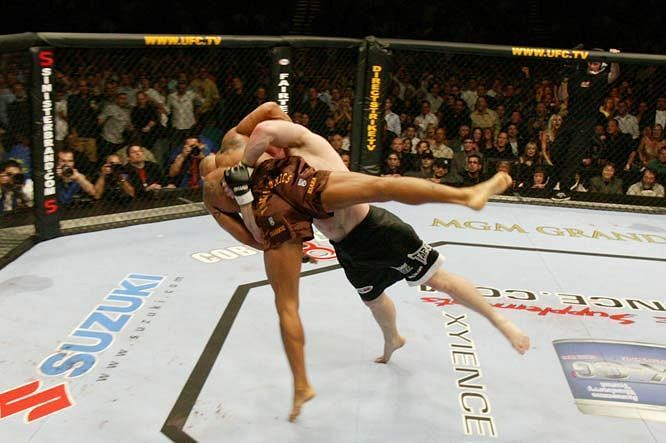 Matt Hughes became renowned for his devastating bodyslams during his UFC career.