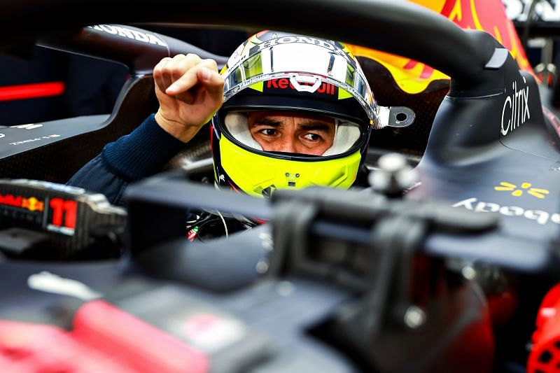 Sergio Perez has made a steady start to life at Red Bull. Photo: Mark Thompson/Getty Images.