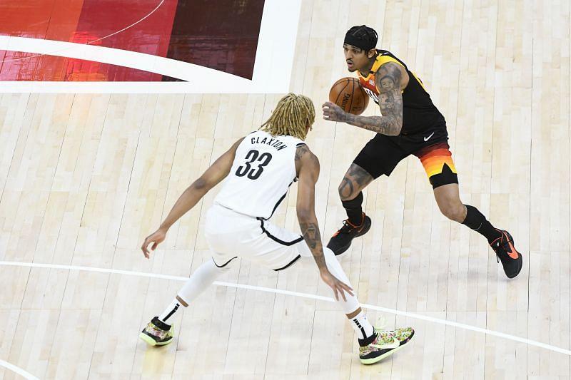 Utah Jazz star Jordan Clarkson.