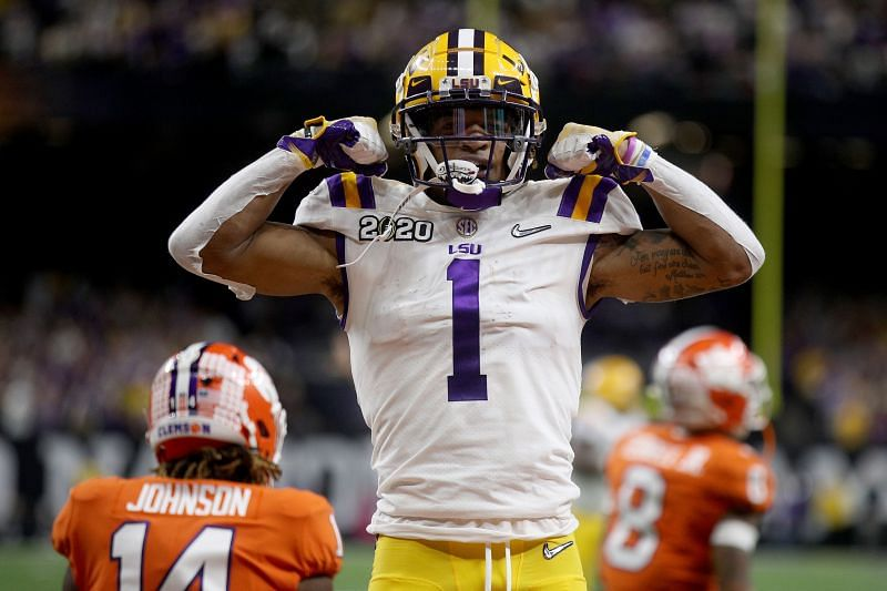 LSU Wide Receiver Ja
