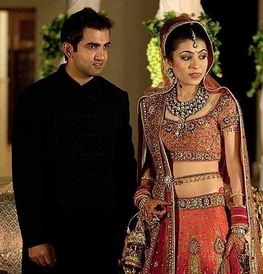 Gautam Gambhir Wedding Photo