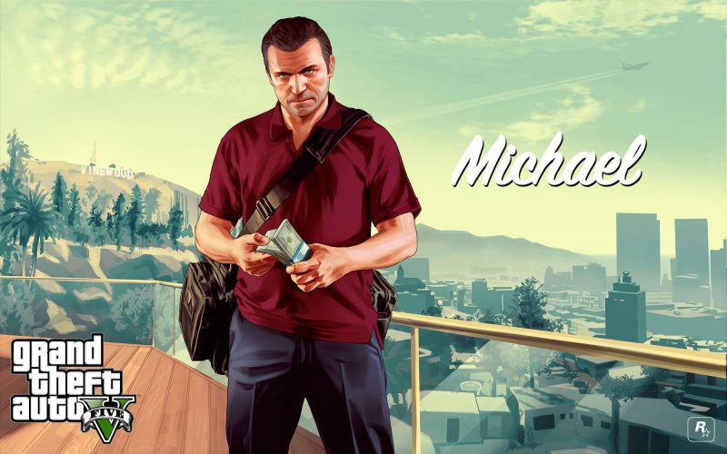 Michael is the de facto face of GTA 5 and a deeply beloved character in the GTA series (Image via Rockstar Games)