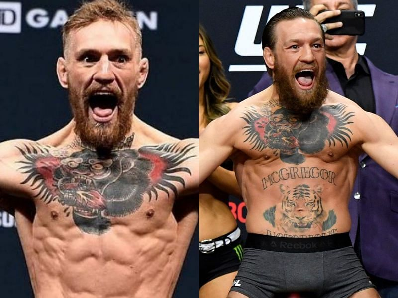 Conor McGregor looked far healthier after moving up from 145lbs.
