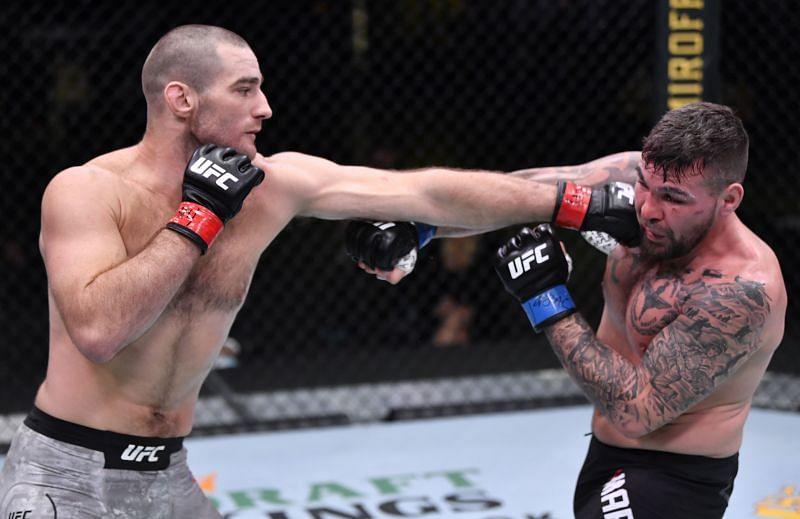 UFC Fight Night: Strickland v Marshman