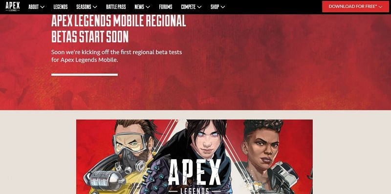 Apex Legends Mobile is all set for a beta release later this month