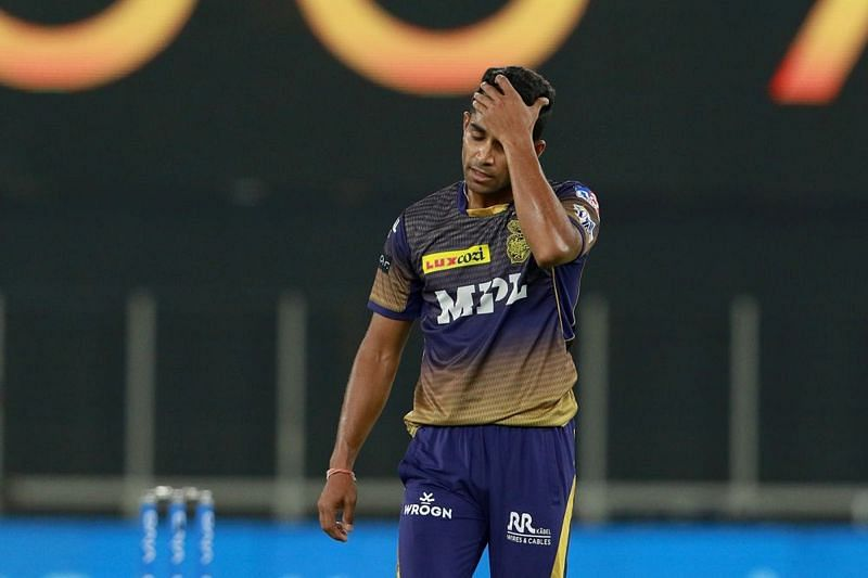 Shivam Mavi bore the brunt of one of the best first over assaults in the IPL.