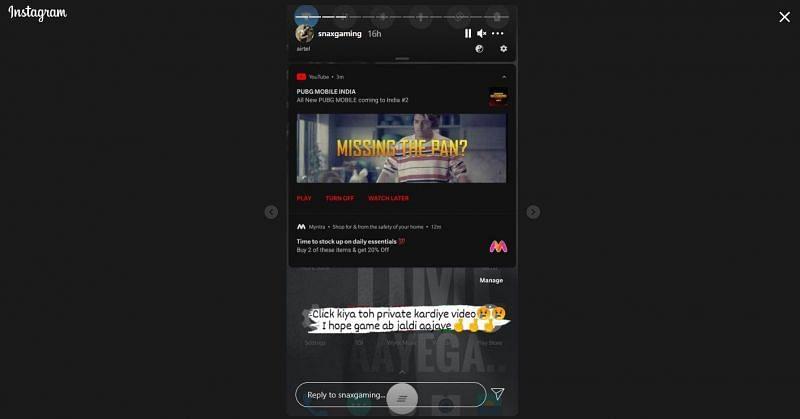 Screenshot of Snax Gaming