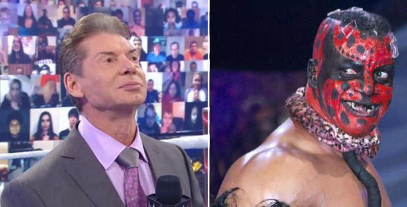 Vince McMahon and The Boogeyman