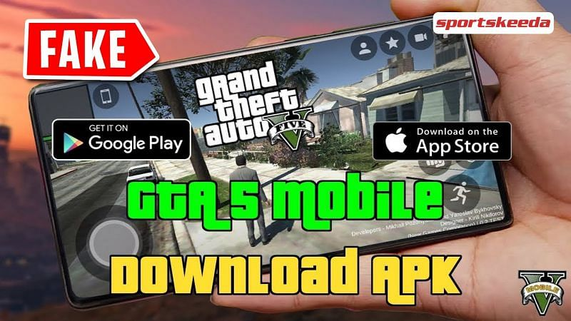 Players must be aware of GTA 5 APK links as these are fake