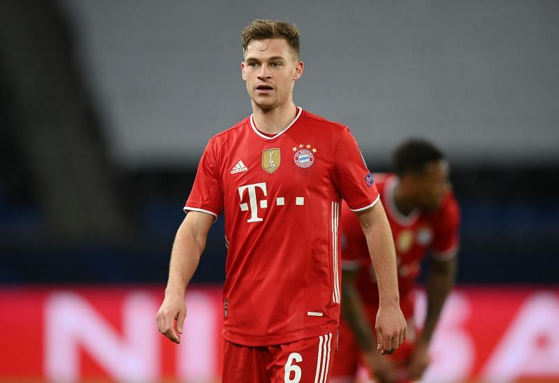 Joshua Kimmich created four chances for Bayern Munich on the night.