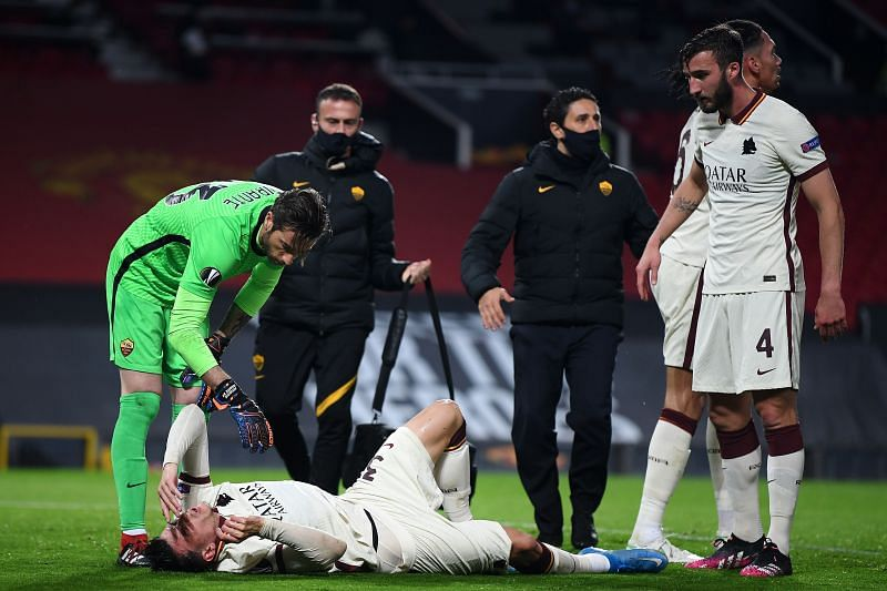 Three first-half injuries ultimately outweighed two first-half goals for AS Roma.