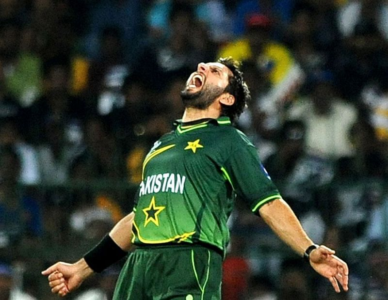 Afridi was the joint-highest wicket-taker in the 2011 World Cup
