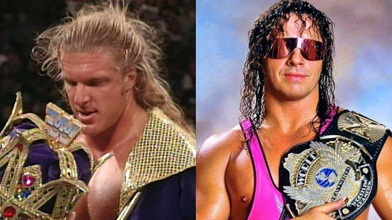 Triple H and Bret Hart (Credit: WWE)