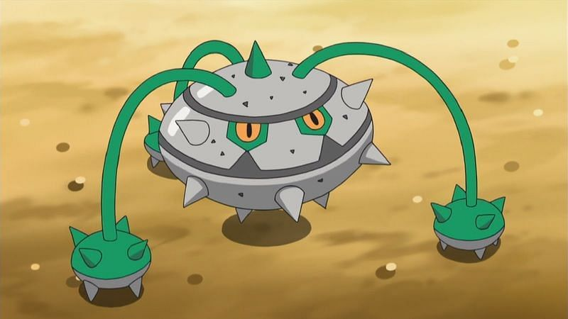 Ferrothorn is a Grass and Steel-type Pokemon (Image via The Pokemon Company)