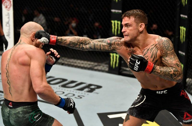 Dustin Poirier suggests that his trilogy fight against Conor McGregor should take place at welterweight
