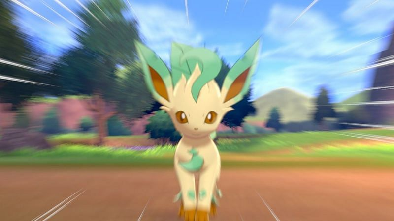 Quick step to catch Leafeon in Pokémon Sword and Shield
