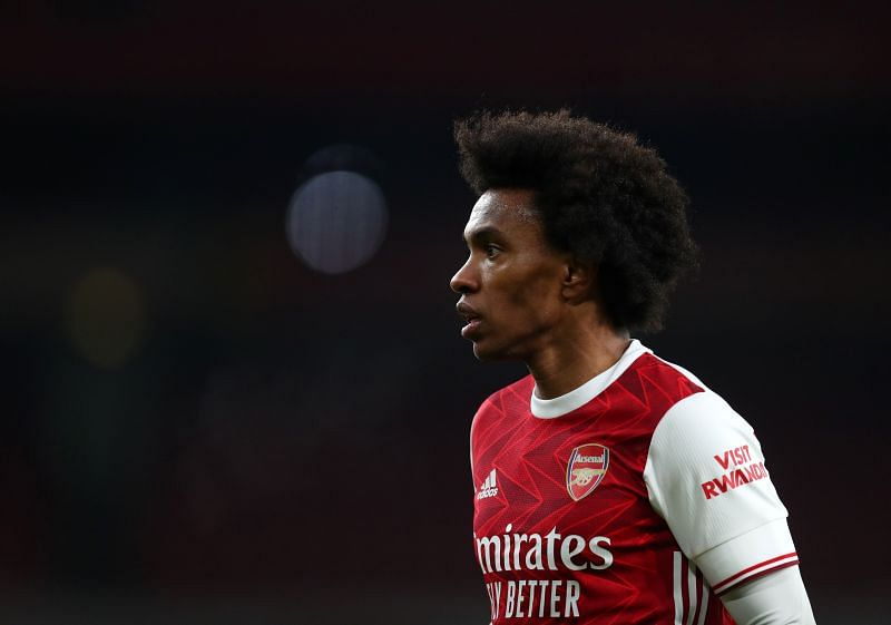 Arsenal signed free agent Willian
