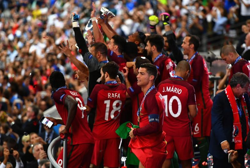Portugal won the Euros in 2016